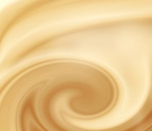 beige abstract swirl background, cream, white chocolate or milk and coffee satin background
